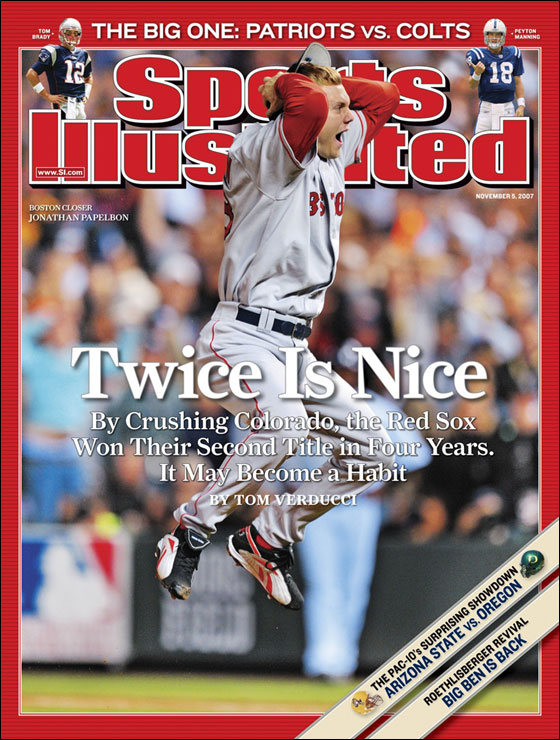 SI Cover, Nov. 5, 2007 Issue