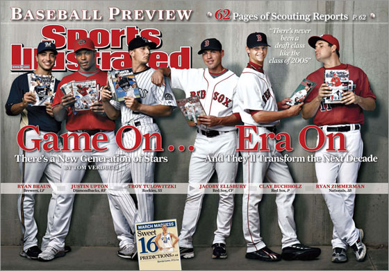 BDD - SI baseball preview cover