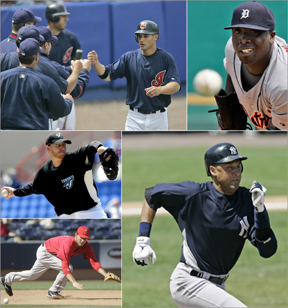 BDD - The Tigers, Yankees, Blue Jays, Indians, and Angels will give the World Champs a run for their money this season
