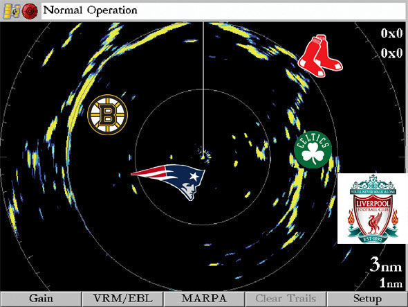Boston Sports Radar