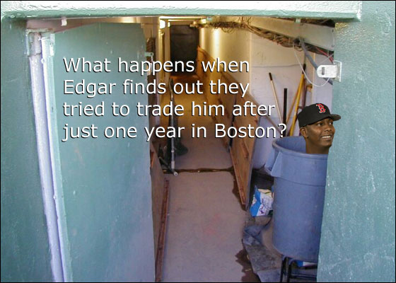 Nowhere to hide at Fenway