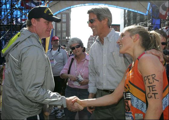Kerry nice gesture