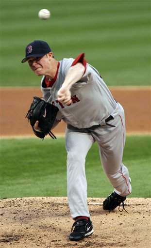 Red Sox Jon Lester pitches in the first inning of a baseball game against the Chicago White Sox on Friday, July 7, 2006, in Chicago. The Red Sox won 7-2.