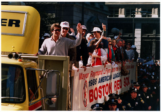 Boston Red Sox 1986 American League Championship celebration