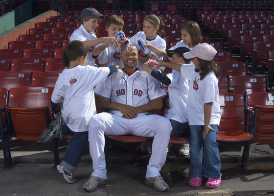 HP Hood, New England's leading dairy products company, announced today that it has signed an agreement with Boston Red Sox center fielder Coco Crisp to serve as a spokesman. The partnership opens the door for Hood to tap Crisp for a variety of promotional and advertising opportunities in support of the company's products and charitable programs.