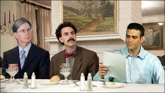 John Henry, Borat, Theo Epstein meet to discuss Daisuke Matsuzaka's contract