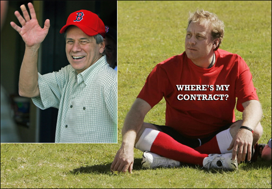 The Red Sox could be waving goodbye to Curt Schilling after his contract expires following the 2007 season.