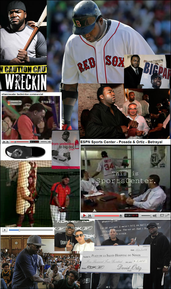 Papi has a lot of commitments, charities, and commercials to deal with