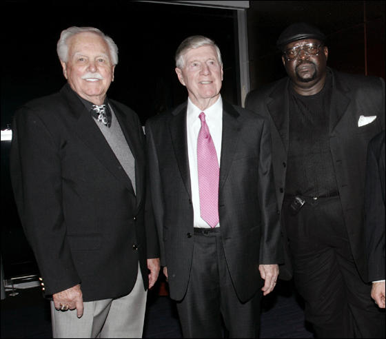 The Red Sox Hall of Fame welcomed its 2006 inductees on Nov. 9 at The Boston Convention and Exhibition Center. Left to right; Dick Williams, Joe Morgan, George Scott.
