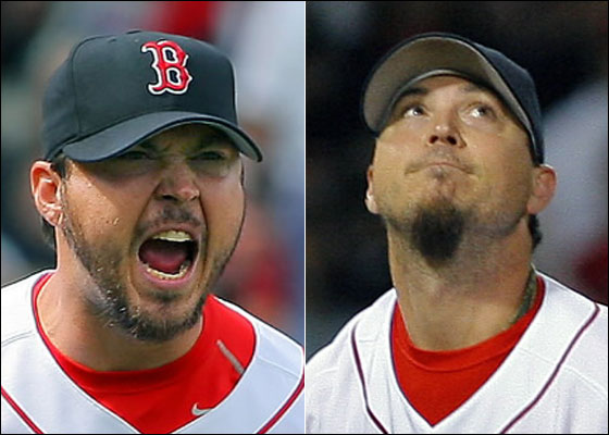 Josh Beckett in April and September