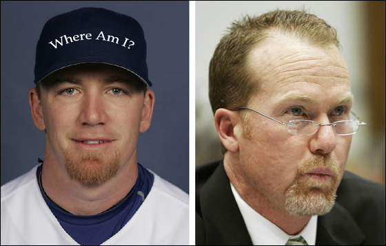J.D. Drew and Mark McGwire