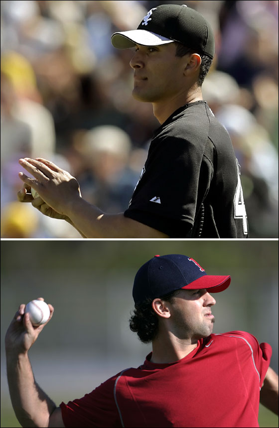 Javier Lopez and David Riske