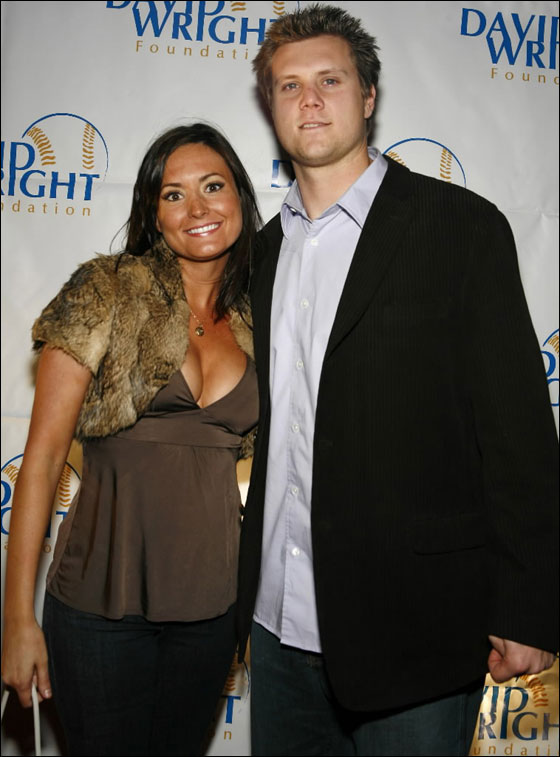 Jonathan Papelbon and wife, Ashley attend the 2nd Annual