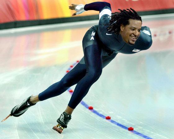 Manny skates clean