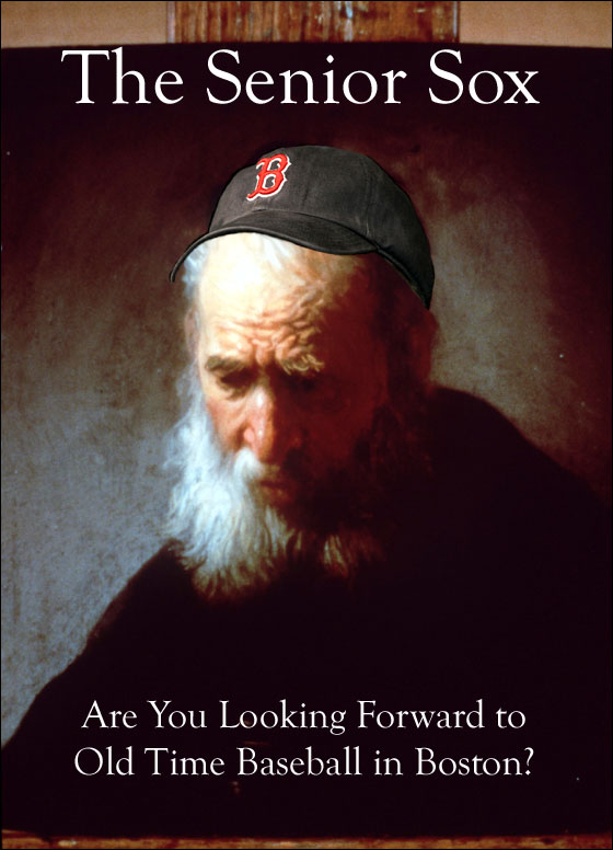 BDD: Old Time Baseball in Boston Photo Illustration -- Rembrandt, Head of a Bearded Old Man Wearing a Fur Cap, ca. 1630, Isabel and Alfred Bader / Handout.