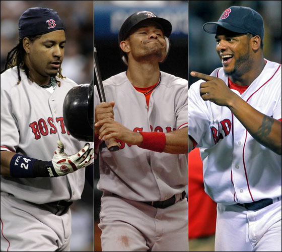 Will Manny, Coco, and Wily Mo Be Playing in Boston Next Spring?