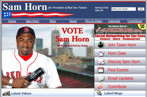 Sam Horn for President