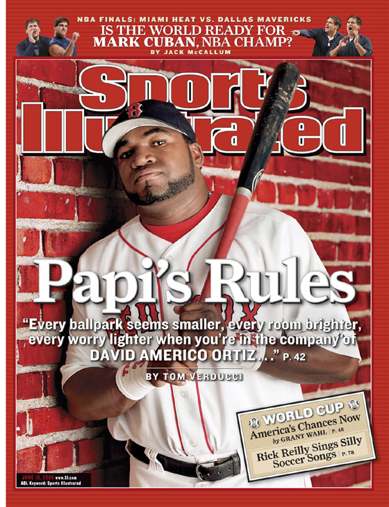SI cover: June 19, 2006