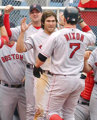 Red Sox Playoff Stars Derek Lowe, Johnny Damon, and Trot Nixon