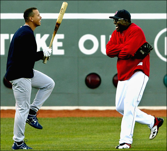 A-Rod and Big Papi