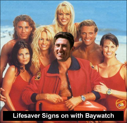 Nomar Signs on with Baywatch