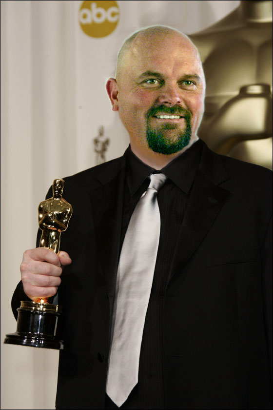 Wells wins the Oscar