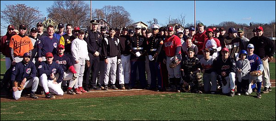 The Boston Men's Baseball League played the 6th Annual Winterball Extravaganza on Dec. 2