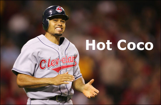 Cleveland's Center Fielder Coco Crisp