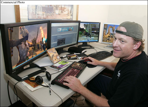 Schilling is an avid video game enthusiast logging countless hours playing multiple EverQuest II characters simultaneously on an elaborate four-monitor computer system. The baseball great says playing online video games is a nice break from spring training and an excellent way to keep in touch with his kids while on the road.  Schilling recently signed an endorsement deal with Sony Online Entertainment, creators of EverQuest II.