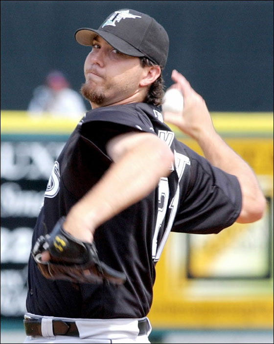 Josh Beckett former Marlin pitcher