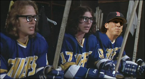 The Hanson Brothers from Slapshot
