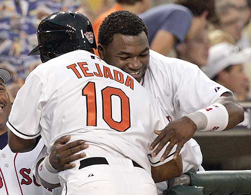 David Ortiz and Miguel Tejada