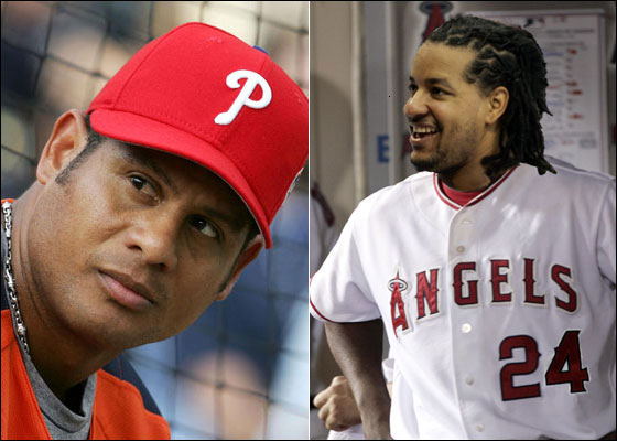 Bobby Abreu and Manny the Angel