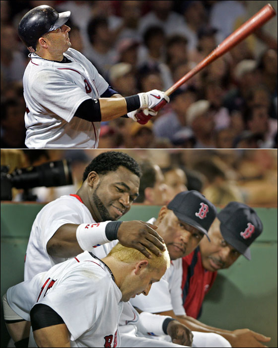 Kevin Millar homers twice
