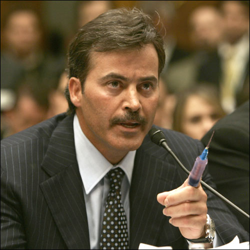 Palmeiro testifies to Congress