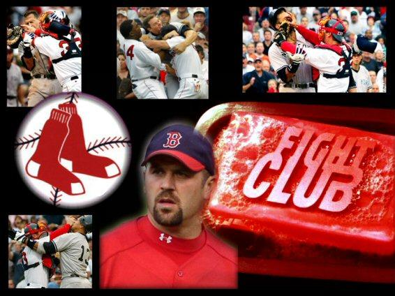 Jason Varitek fight club