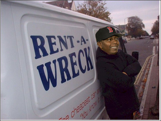 Moving Day for Rent-a-Wreck