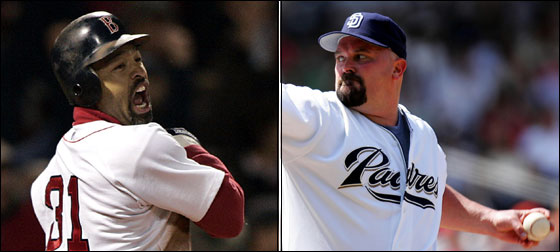 Dave Roberts to Boston; David Wells to San Diego