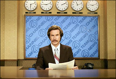 Ron Burgundy, Anchorman