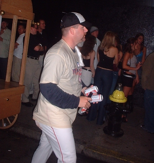 Todd Jones celebrating another wild card