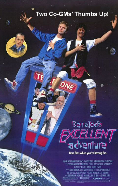 Ben and Jed's Excellent Adventure