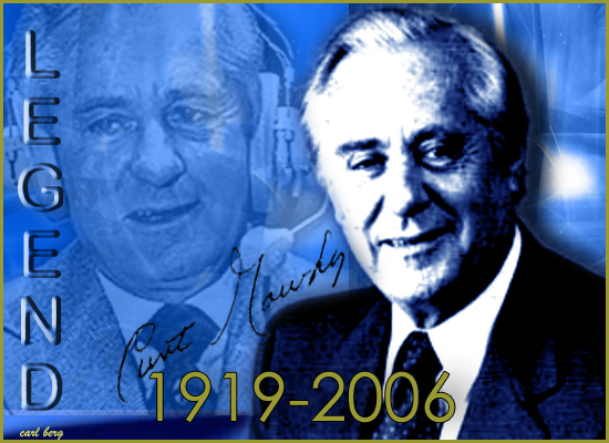 Curt Gowdy, Legend -- Graphic Design by Carl