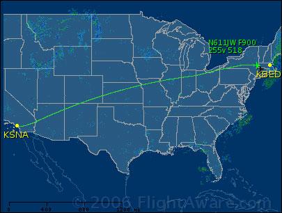 Track flight