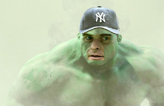 Giambi the Hulk