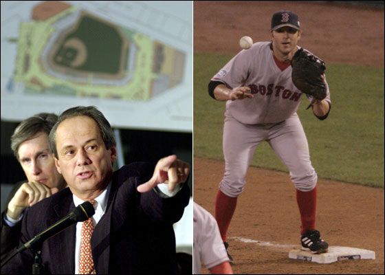 Larry Lucchino and Doug Mientkiewicz