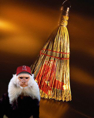 Sweep the Monkey tonight