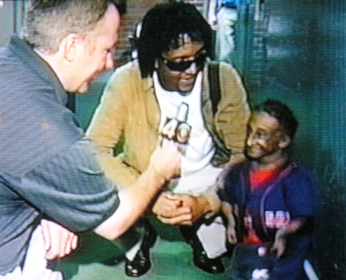 Pedro Martinez And Midget