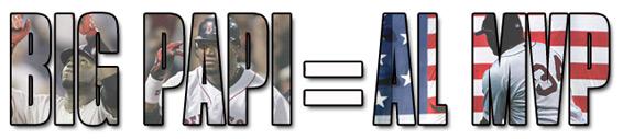 Big Papi = AL MVP