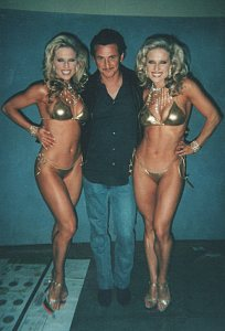 Sean Penn and the Twins
