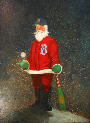 Red Sox Santa
